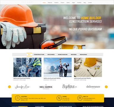 builder website
